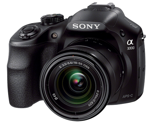 Sony Officially Unveils the A3000 DSLR Style E Mount Camera sonyalpha3000 1
