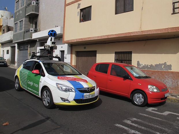 Thai Villagers Arrest a Google Street View Driver, Thought He Was a Spy Photog streetviewcar