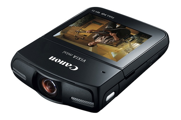 Canon Brings Back the Pocket Camcorder with the WiFi Enabled Vixia Mini vixia1