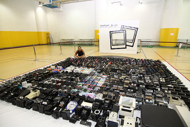 Photojournalist Reveals His 4,425 Camera Collection, Breaks His Own World Record