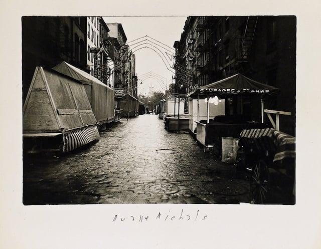 Empty New York, c. 1964, Vintage gelatin silver print, 5 3/4 x 7 3/8 inches (paper)