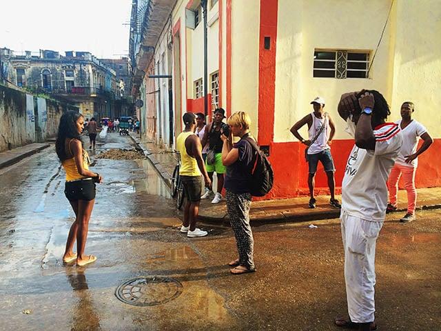 în Cuba