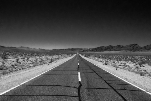The Road to Death Valley, California.