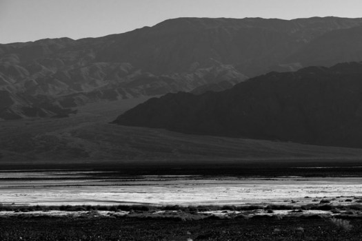 Badwater Basin, Death Valley National Park, California.