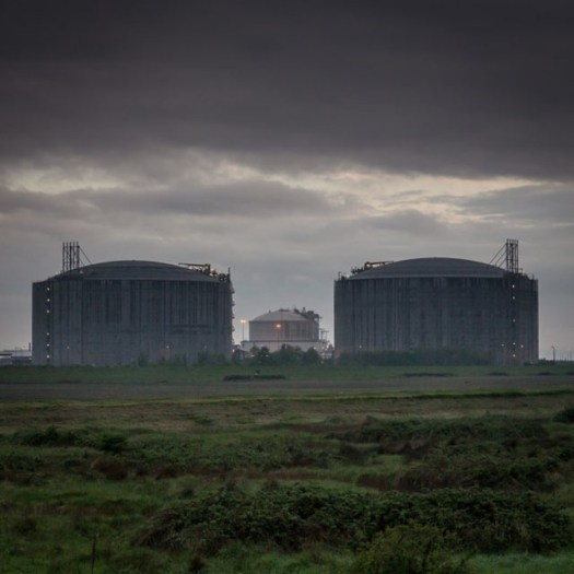 Liquified natural gas plant, Isle of Grain II.