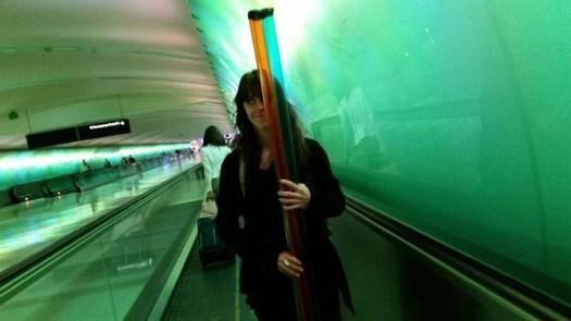 Pare's new tube guard light painting sticks.