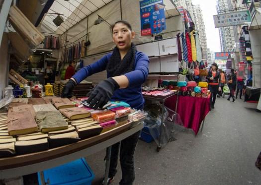 Mongkok market – Hong Kong
