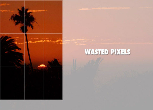 Try not to crop. Get it right in-camera to save precious pixels.