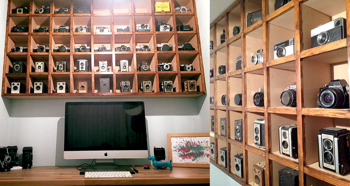 This Photographers Office Features His Collection Of