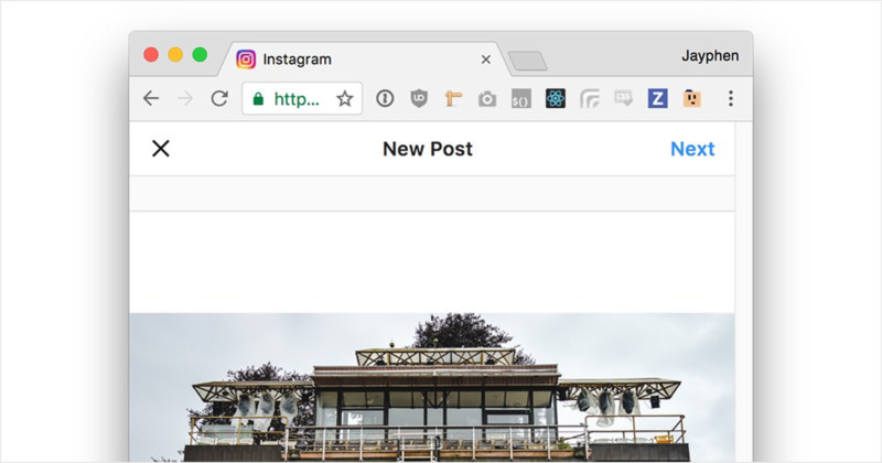 How to Post Photos to Instagram From a Desktop Browser