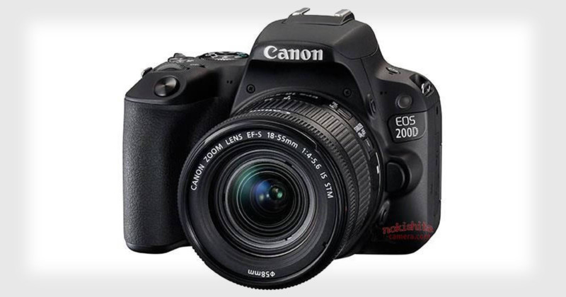 Canon Rebel SL2 Photos and Specs Leaked