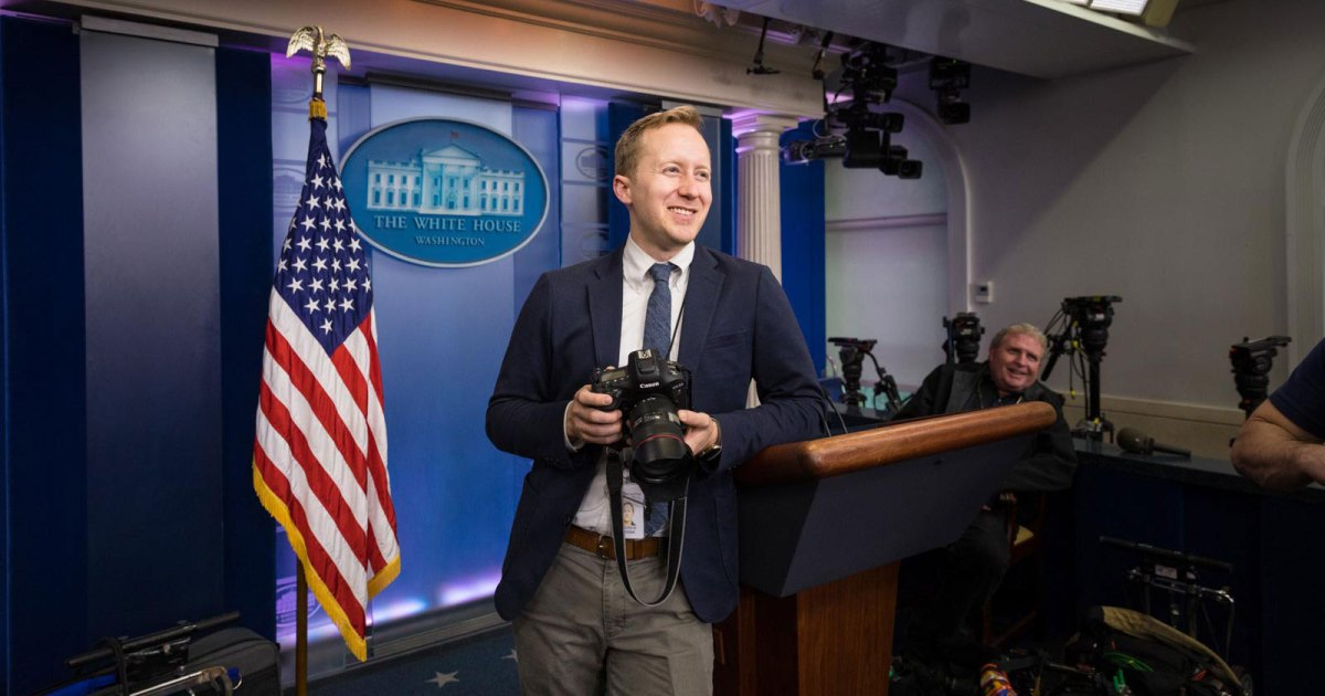 Meet a Photographer Whose Camera is Focused on President Trump