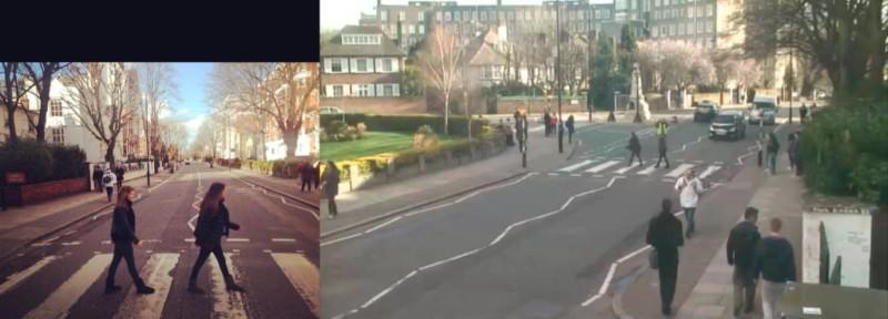 """bhc0 egcmaa0chj jpg large orig 800x288 - Projeto """"Found"""" visa achar pessoas que tiraram foto na rua dos Beatles"""