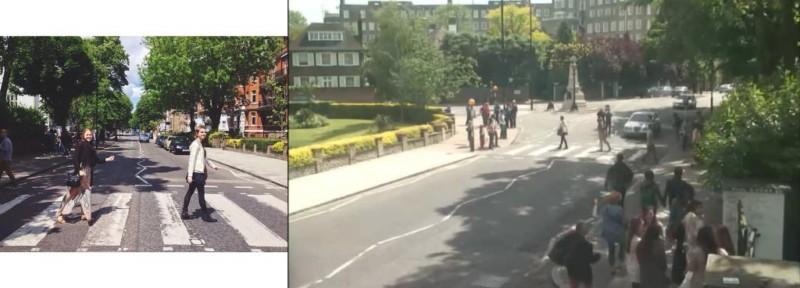 """bohibkkicaahczc jpg large orig 800x288 - Projeto """"Found"""" visa achar pessoas que tiraram foto na rua dos Beatles"""