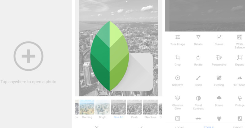 Snapseed Gets New Photo Filters and a Facelift