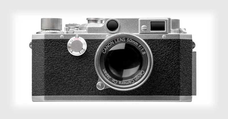 Canon is Selling a USB Drive That Looks Like Its 1950s Rangefinder