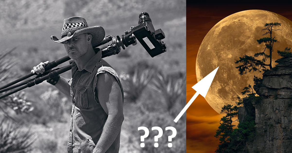 Peter Lik Called Out by Photographers Over 'Faked' Moon Photo