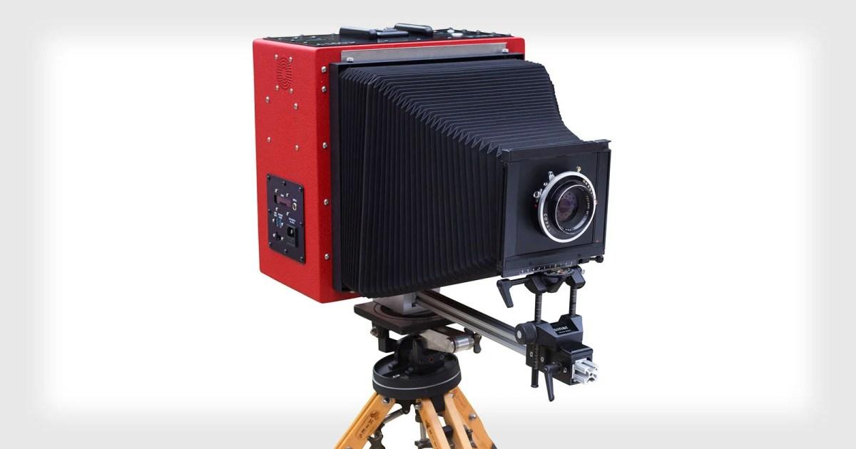 LargeSense Unveils World's First Single Shot 8×10 Digital Camera