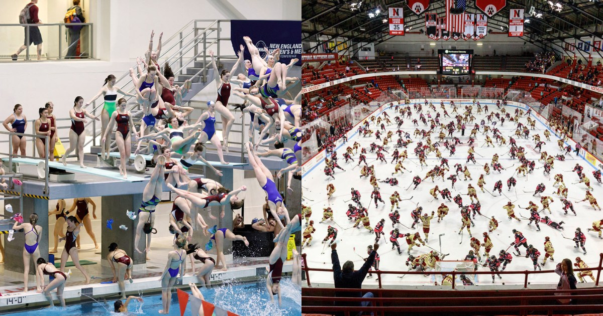 Hours of Sport Events Photoshopped Into Dizzying Single Photos