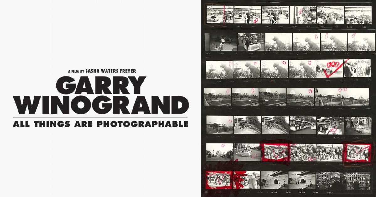 Trailer: The First Documentary About Street Photographer Garry Winogrand