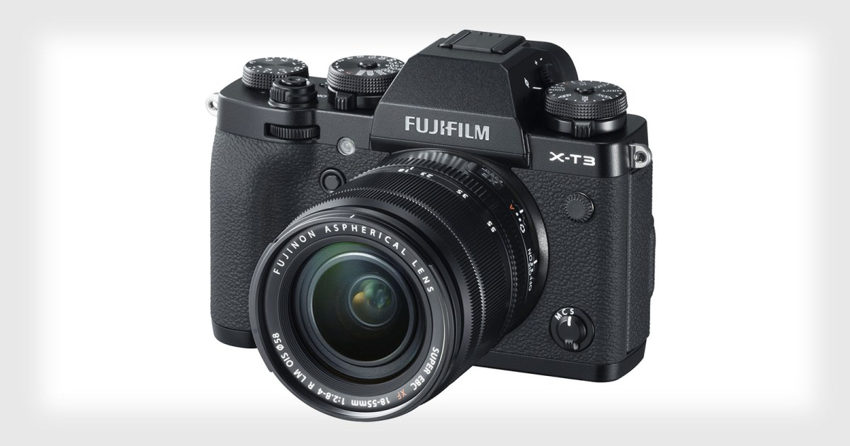 Fujifilm Unveils the X-T3 with a 26MP X-Trans Sensor and 4K/60p Video
