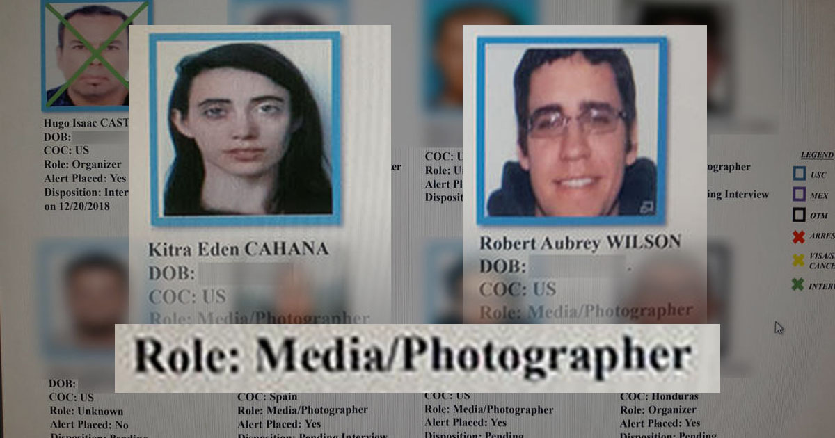 US Govt Tracking Photojournalists with Secret Database, Leaked Docs Reveal