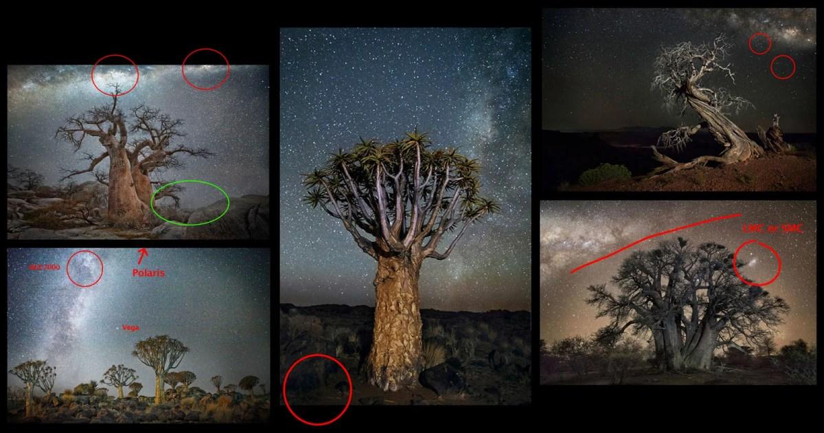Scientific Errors in Those Nat Geo Milky Way Photos