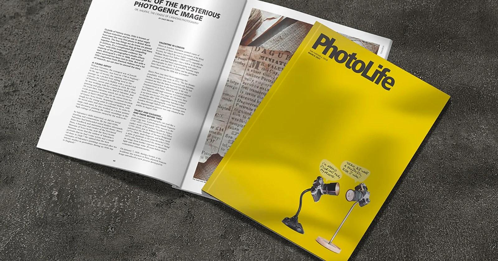 La rivista canadese Photo Life ha spedito il suo numero finale