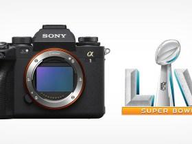 La Sony Alpha 1 da utilizzare nella LV Super Bowl della CBS