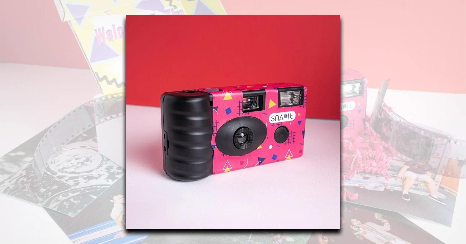 Snap It raggruppa le fotocamere usa e getta in un modello in abbonamento