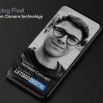 Google brevetta l'esclusiva fotocamera per smartphone frontale sotto lo schermo