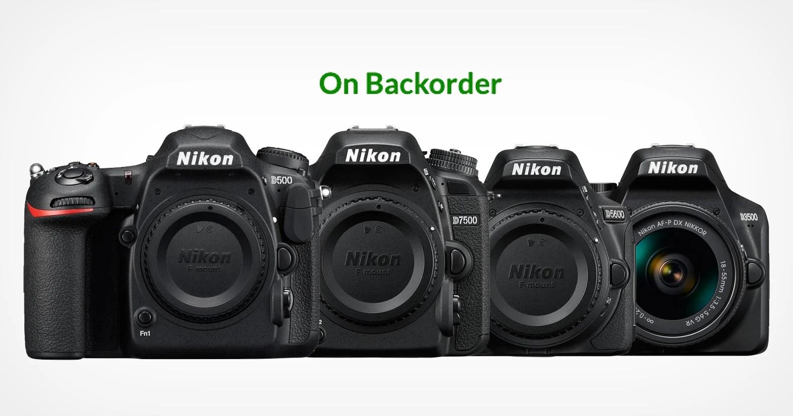 Nikon DX DSLR e obiettivi che scompaiono o non vengono riforniti