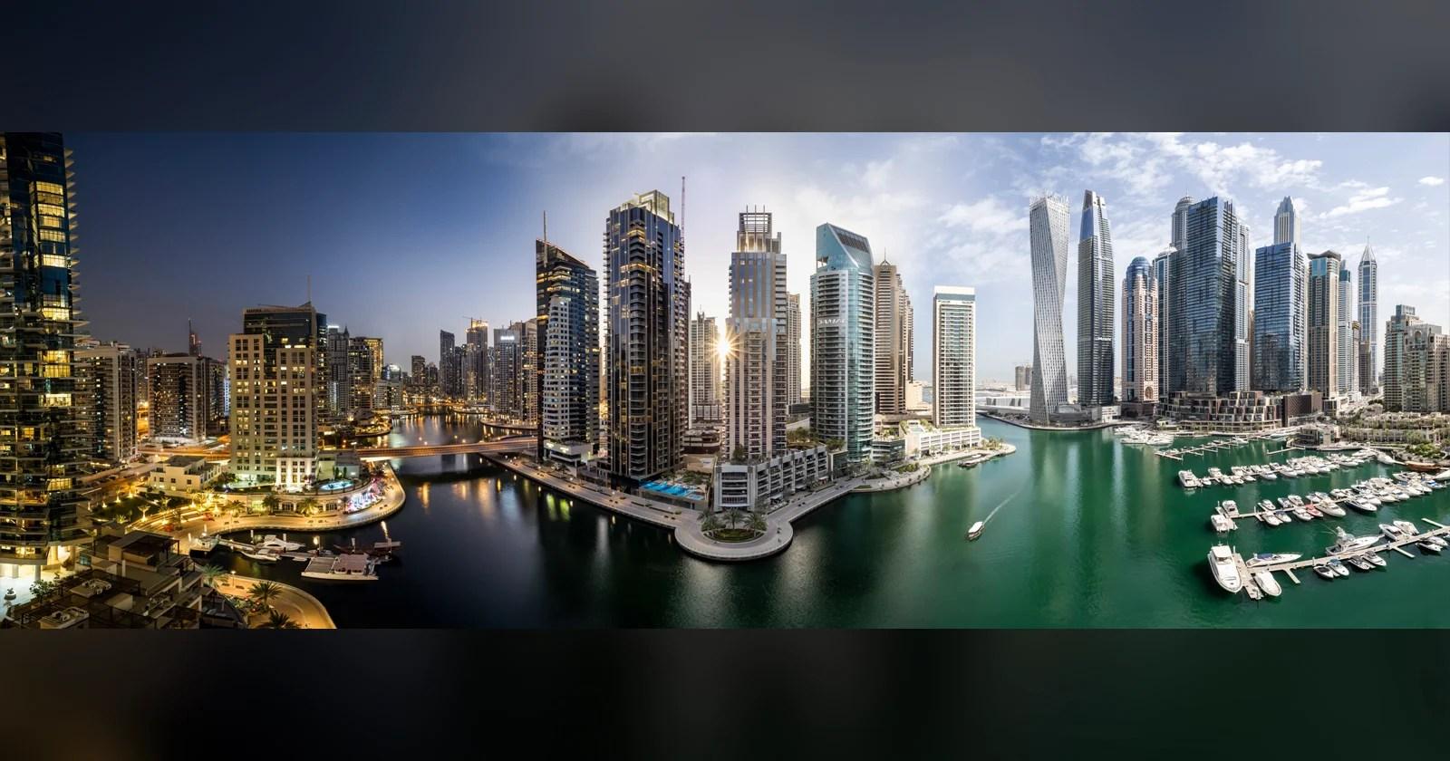 "La serie ""Timeblend Dubai"" trasforma l'anima dei timelapse in foto"