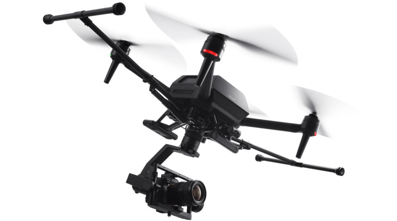 Airpeak ILCE 7SM3 SEL24F14GM flying action image