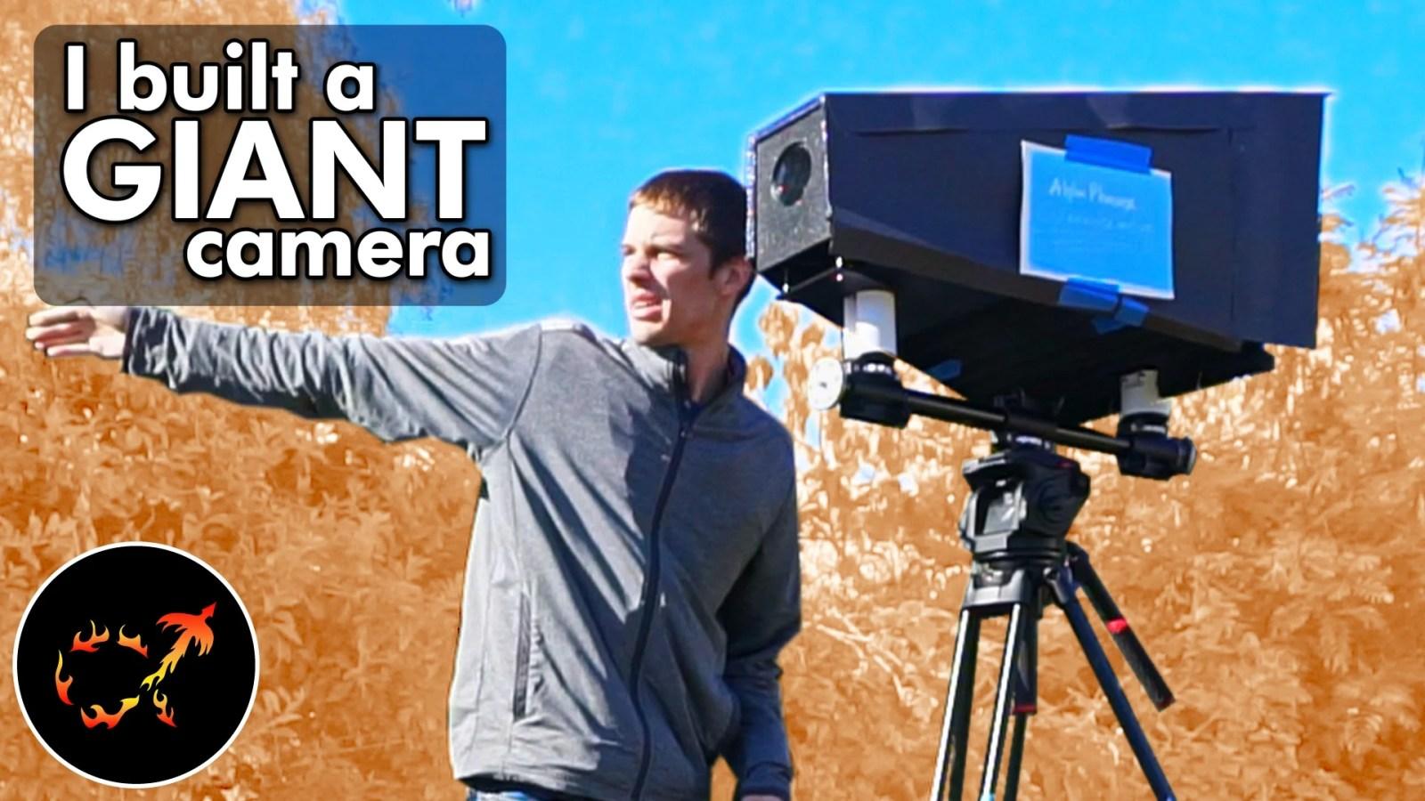"""Lezioni apprese creando la mia """"Cyanocamera"""" di grande formato"""