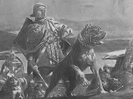 mastiff era usado em guerras