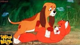 cachorro do cao e a raposa