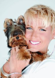 xuxa e seu cachorro york