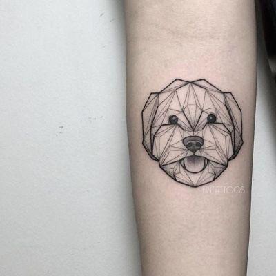 tatuagem-de-cachorro-delicada-macho