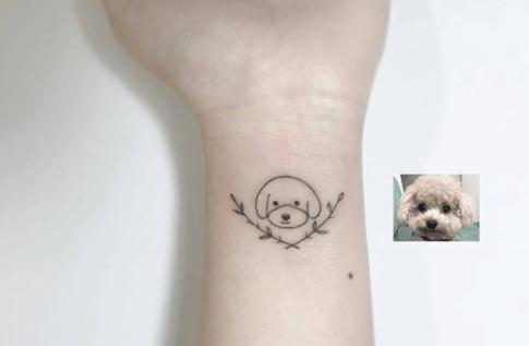 tatuagem-de-cachorro-delicada