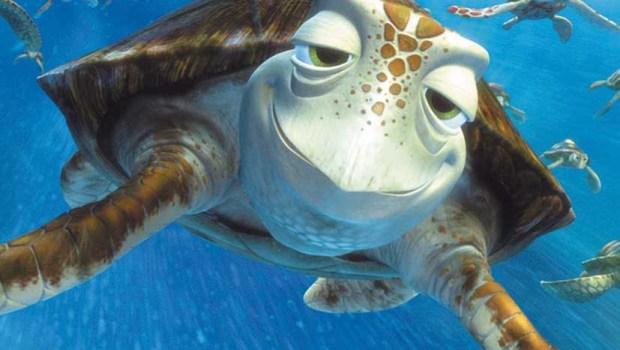 nome da tartaruga do nemo