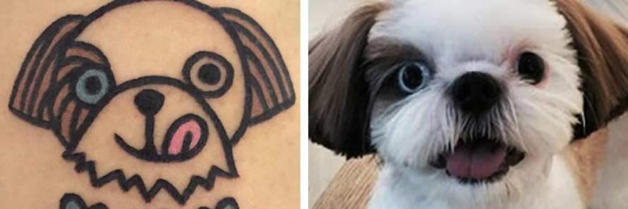 Tatuagens de Shitzu