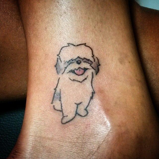 tatutagem-de-shih-tzu-fofa