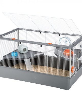 Choose a larger hamster cage