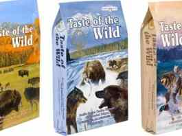 Taste of wild dry dog food