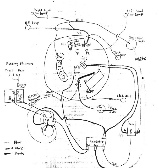 12 volt generator wiring diagram wiring diagram wiring diagram for farmall m tractor the