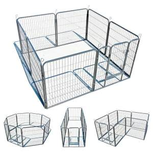 My-1st-Pet-8-Panels-Metal-Exercise-Dog-Playpen