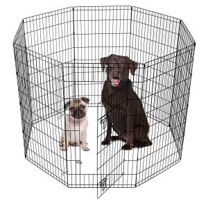 Smith-built-Premium-8-Panel-Black-Dog-Exercise-Play-Pen