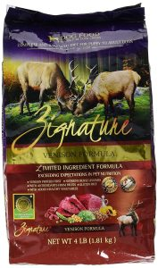 Zignature-Venison-Formula-Dog-Food