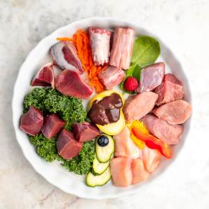 Turkey Chunky Mix with Vegetables